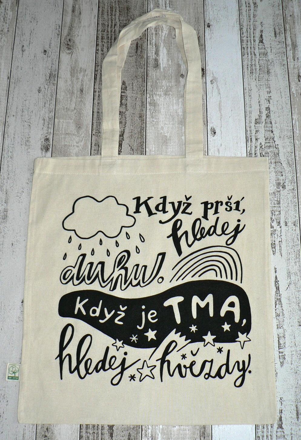 Nová taška - Když prší